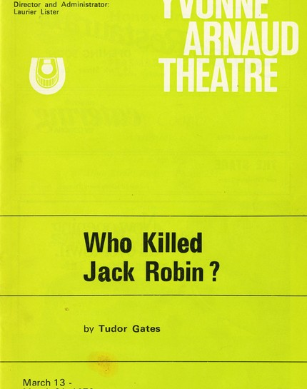 Who Killed Jack Robin?